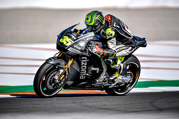 Crutchlow playing important role in Honda's 2018 development