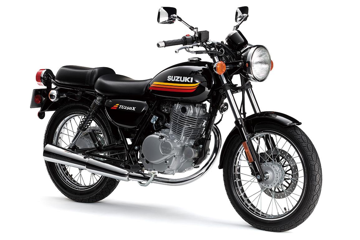 Retro Appearance For 2018 Model Suzuki Tu250x Released