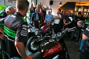 Kawasaki hosts Australian Z900RS unveil in Sydney event