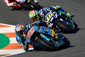 Miller caps off Honda career with seventh at Valencia