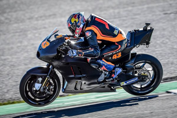 Miller swiftly adapts to Ducati on debut at Valencia test