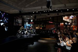 New Triumph Tiger range displayed in EICMA presentation