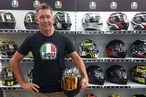 Troy Bayliss chooses AGV Helmets for 2018 ASBK