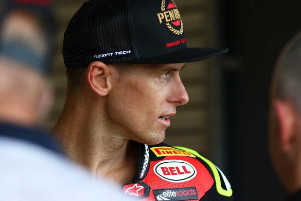 Wildcard Herfoss to 'keep fighting' in WorldSBK appearance
