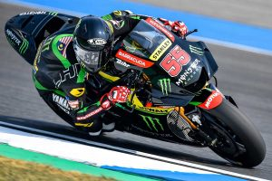 Syahrin completes first day with Monster Yamaha Tech3