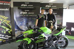Kiri Welsh takes on the Kawasaki Ninja 400