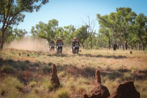 001 KTM Rallye rider auction to support royal flying doctor service