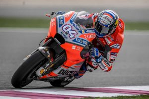 Dovizioso fastest in Qatar on Friday as MotoGP begins
