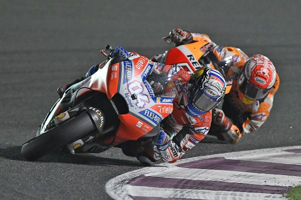 Dovizioso strikes first in MotoGP opener at Qatar