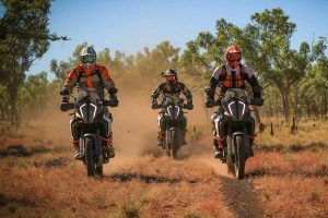 KTM Australia Adventure Rallye partners with RFDS