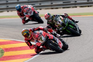 Davies storms to race two WorldSBK victory at Aragon