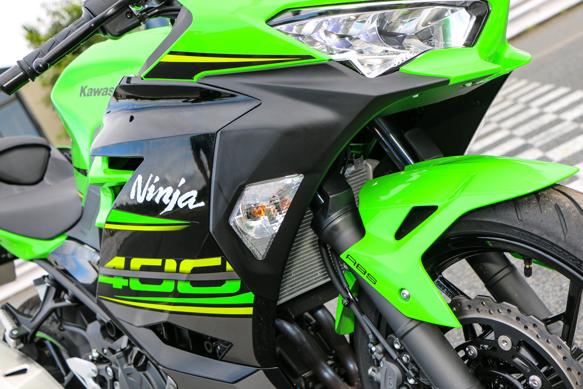 Review 2018 Kawasaki Ninja 400 Cycleonlinecomau
