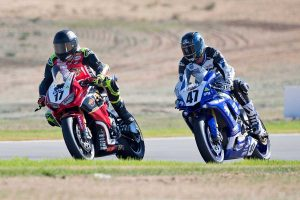 Half points decision for final Superbike race at The Bend