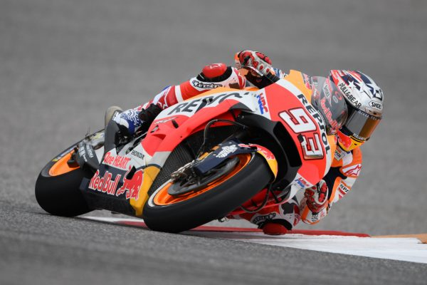 Marquez clinches Austin victory as Dovizioso steals points lead