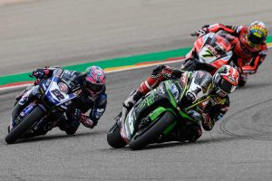 Rea edges to Aragon WorldSBK race one victory