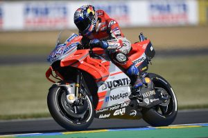 Dovizioso leads the way in MotoGP on Friday at Le Mans