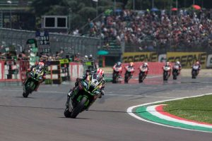 Rea matches Fogarty WorldSBK record with Imola double
