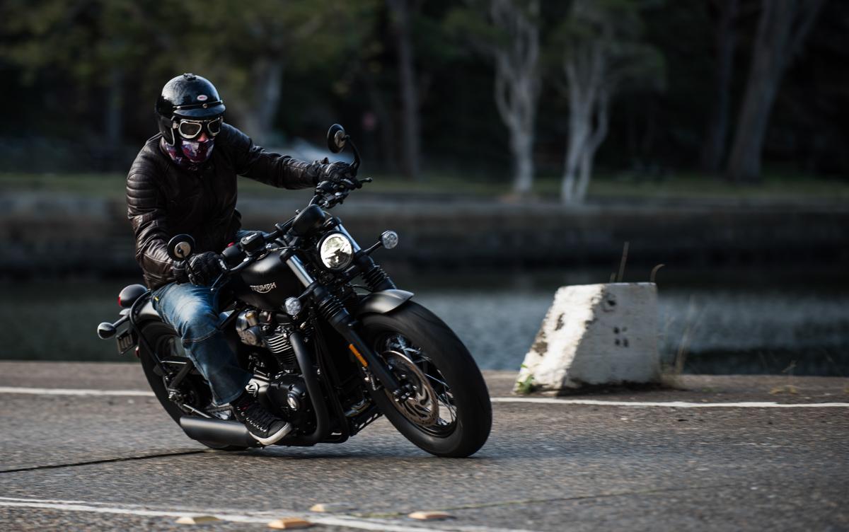 Triumph bobber black for sale