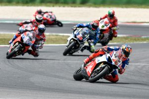 Miller and Bayliss complete Ducati Race of Champions