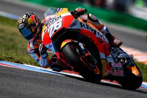 Pedrosa rebounds to lead day one of MotoGP at Brno