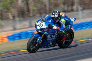 Positive steps for Team Suzuki ECSTAR Australia