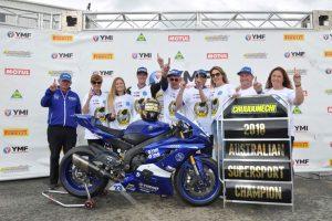 Cru crushes ASBK Supersport Championship in 2018