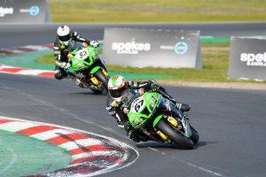 Kawasaki BCperformance takes positives out of ASBK at Winton