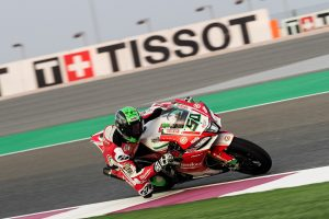 Laverty records fastest time in Qatar WorldSBK practice