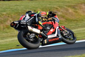 National champion Herfoss on Superbike podium at grand prix