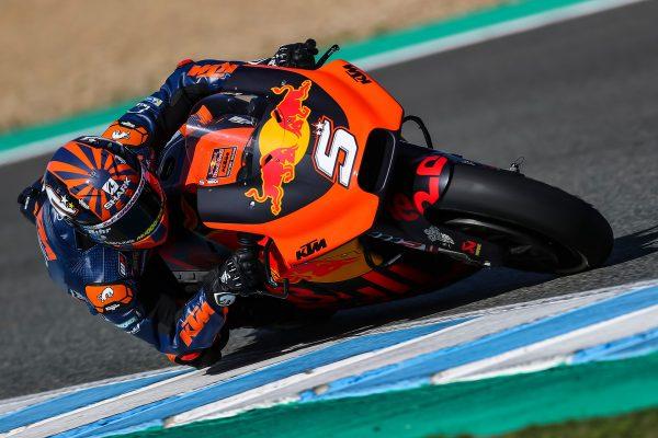 Zarco still working on Red Bull KTM RC16 base setting