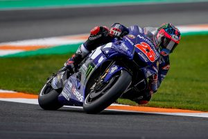 Vinales on MotoGP pole following fascinating Valencia qualifier