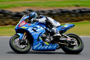 Maxwell shakes down Team Suzuki Ecstar GSX-R1000R at Phillip Island