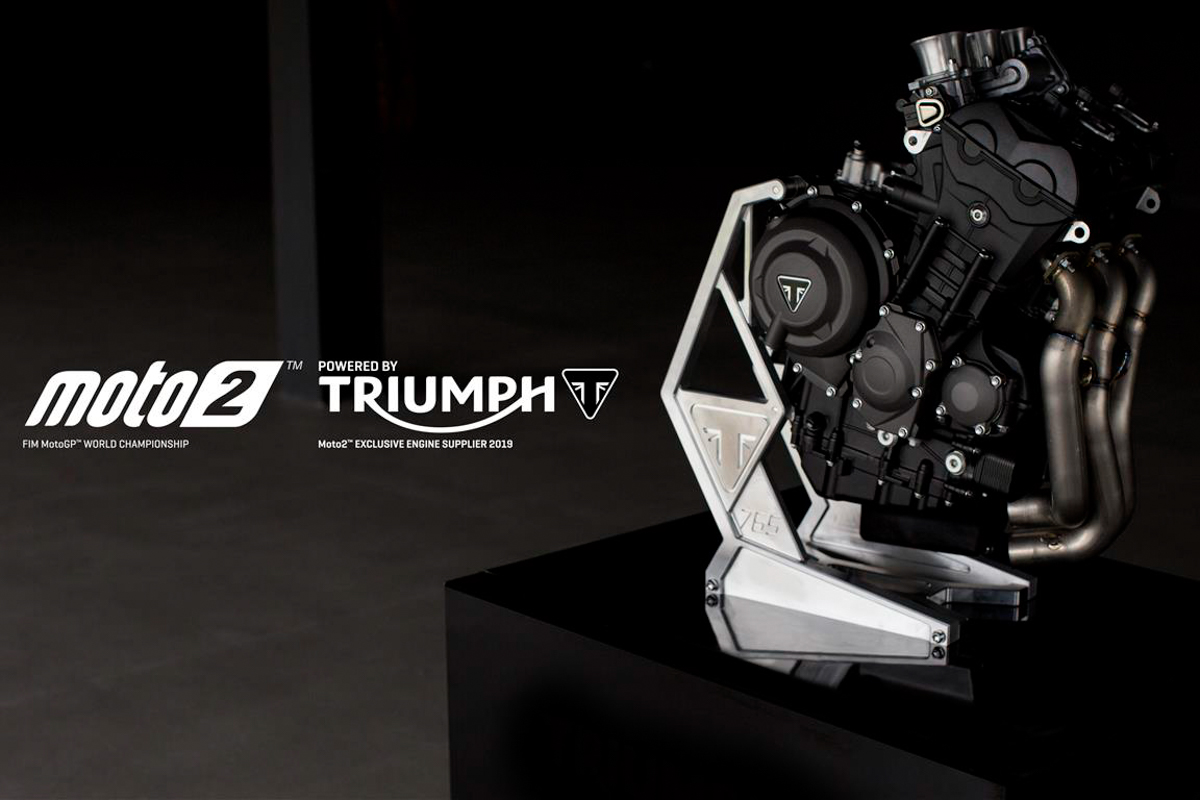 Tech: 2019 Triumph Moto2 engine