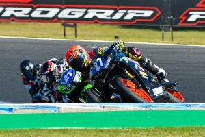 Dual Supersport 300 victories for Stauffer at Phillip Island