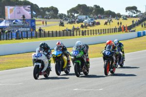 Lytras wins Supersport 300 race three as Stauffer earns the overall