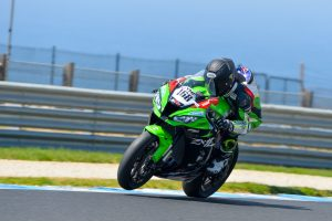 Team GSR Kawasaki kicks off 2019