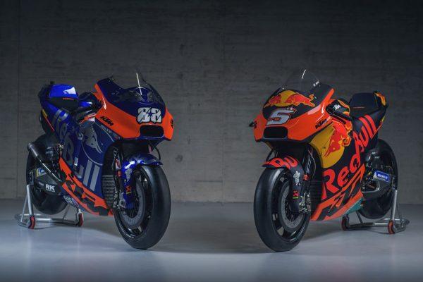 KTM launches 2019 MotoGP program in Austria