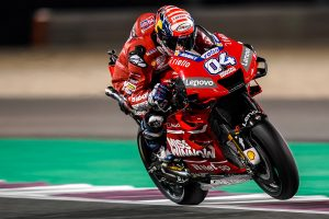 Dovizioso not completely satisfied exiting Qatar test