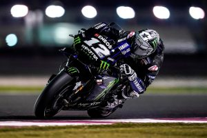 Vinales edges Rins for fastest time in Qatar MotoGP testing