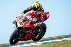 Perfect WorldSBK debut a surprise for Bautista