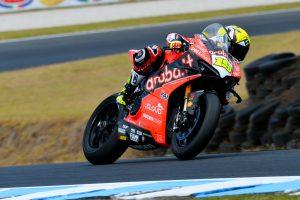 Bautista concludes Phillip Island WorldSBK test fastest