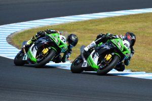 Spirited effort for Kawasaki BCperformance in Phillip Island ASBK opener