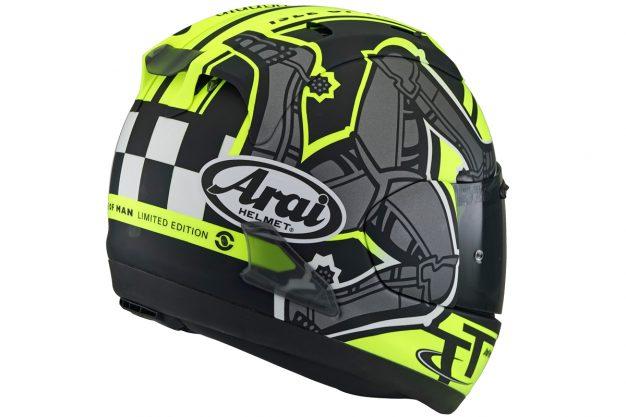 2019 arai isle of man helmet