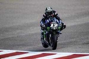 Vinales sets pace in practice at COTA MotoGP