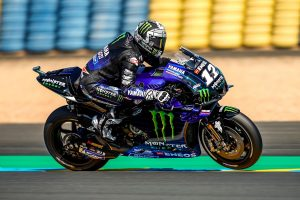 Vinales goes fastest in Friday MotoGP practice at Le Mans