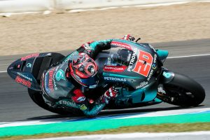 Quartararo beneath lap record in Jerez MotoGP testing