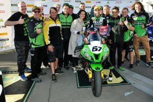 Dunlop takes top spot at The Bend