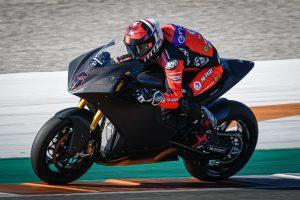 Garzo fastest at Valencia as MotoE returns to testing