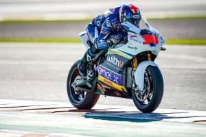 Smith tops day two of MotoE testing at Valencia