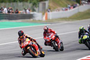 Lorenzo crash sparks race of attrition in Catalunya